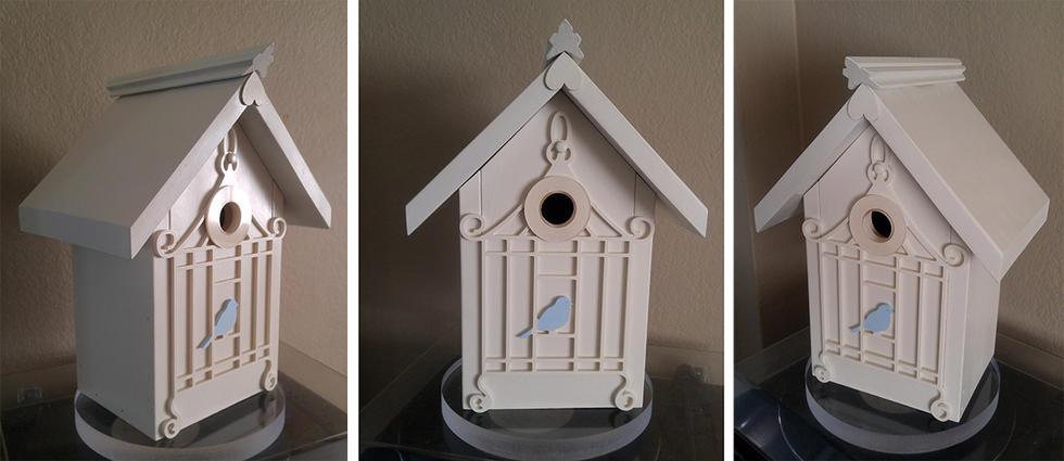 The Victorian Bluebird Birdhouse
