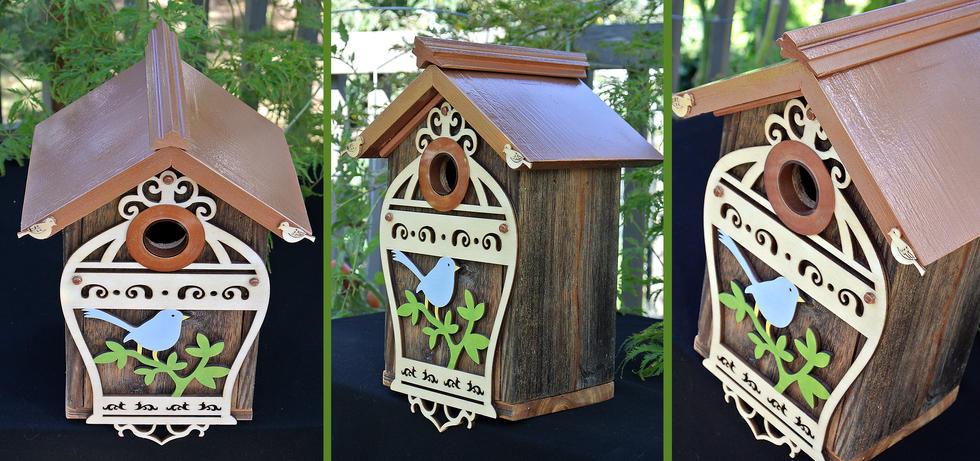 The Birdcage Birdhouse