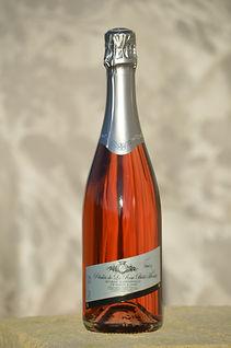 les pétales de la rose bois montet Vin mousseux rosé bordeaux pestoury