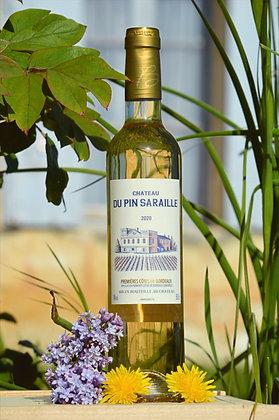 Château du Pin Saraille 2020 Premières Cotes de Bordeaux Blanc Moelleux