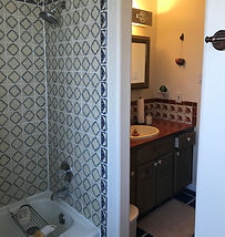 Downstairs shower (shared)