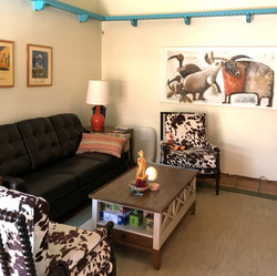 to comfortable surroundings