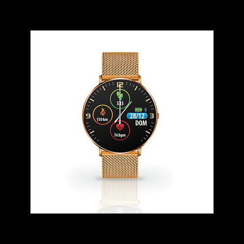SmartWatch Techmade Kosmos Metal Gold