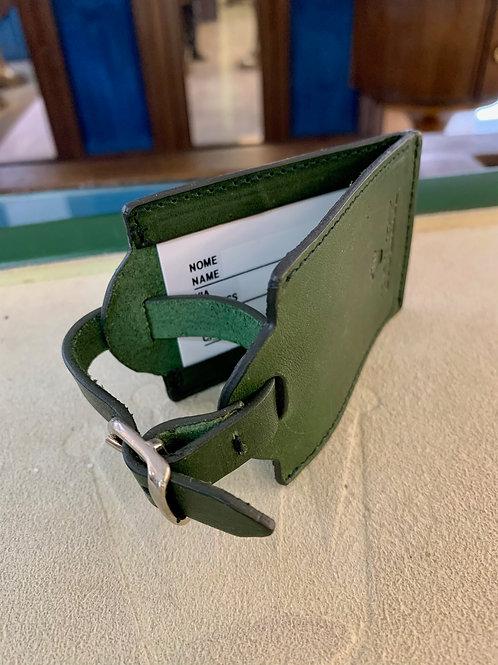 Etichetta da valigia in pelle Rolex