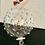 Thumbnail: Palla di Natale in cristallo e argento