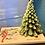 "Thumbnail: Centrotavola con candela ""albero di Natale"""