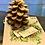 "Thumbnail: Centrotavola con candela ""pigna"""
