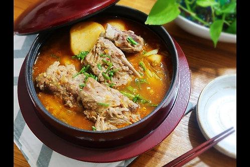 WSF1 萬用韓式極上豬骨湯方便包 700ml (少辣口味)