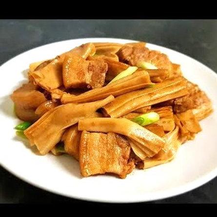 ELD104 精心素做系列 - 支竹香炆冬菇素腩仔(清煮)(加熱即食) 300g