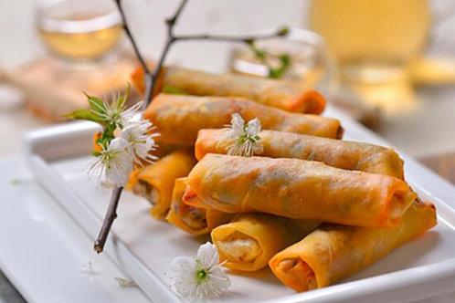 DOLL01 (香蕉)香酥一口鮮果脆春卷(氣炸/香焗即食)(20條裝)