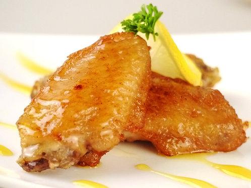 WSB31 (法國)有機檸檬蜜糖醃大大隻法國無激素雞翼 1磅(醃好未煮)