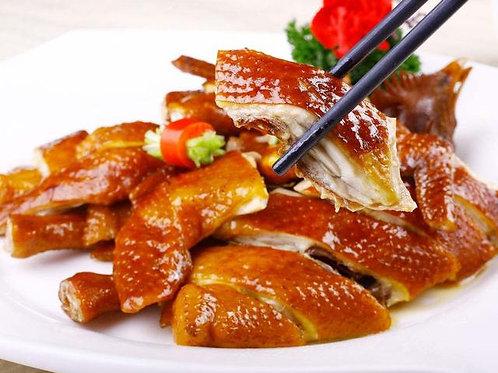 ELD36 (天山珍菌-口磨醬) 豉油雞(熟) 1/4隻