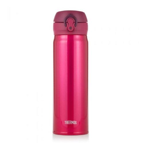 PAB011 Thermos 不鏽鋼冷熱保溫瓶 500ml 香檳紅(一鍵即開版)