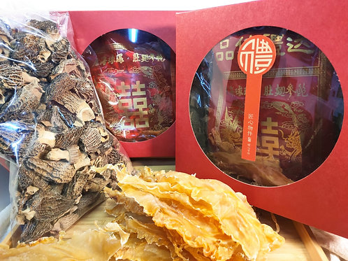 ESA007 (美顏護膚禮盒)精選花膠-極品鹿茸菌-養顏羊肚菌