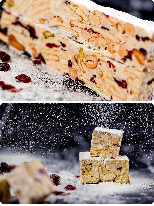 DT048新西蘭牛乳雪花酥 180g (輕甜)(一口方塊大小)