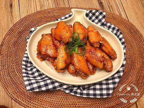 WSB47 (法國)香香雞翼 - 金不換魚露沙薑無激素大碼 (醃好未煮) 1磅