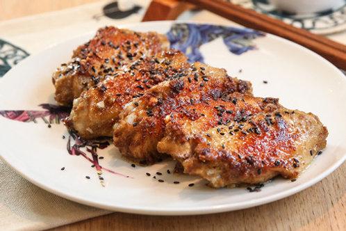 WSB34 (法國)土匪口味醃大大隻無激素雞中翼(已醃未煮) 1磅