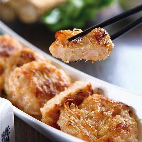 SW016 素煎餅三寶第三寶 - 素牛蒡餅6塊(熟)(即煎即食)