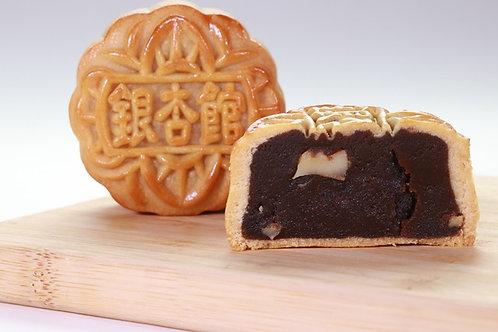 MC002 (清甜棗味)銀杏館大棗核桃月餅 - 1盒(4個) (80克/個)