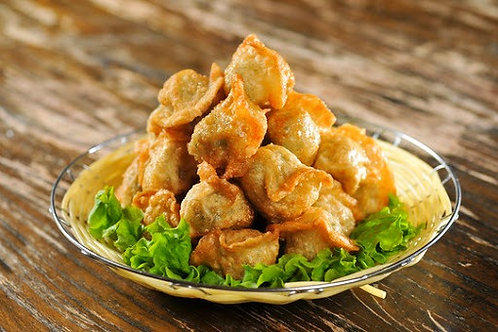 SW009 馬介休菠菜豬肉餃(天然手工餃)(10隻裝)(未煮)