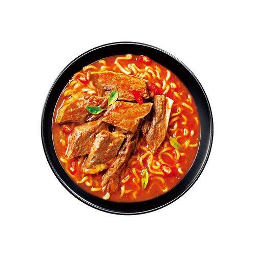 DOLL005 (香港製造)公仔牌至專麵 - 日本赤湯牛肉麵味 (重口味)(1包麵)(麵餅)