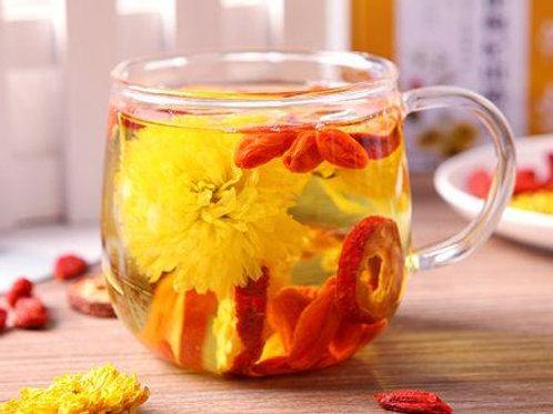 TEA014 (瘦身排毒祛濕)薏米雪蓮花山楂荷葉瘦身茶 (10款同時更補血護心)