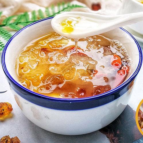 SSA025 (甜品)冰糖桃膠雪燕雪蓮子糖水方便包(素)(配好材料未煮)(2-4人)