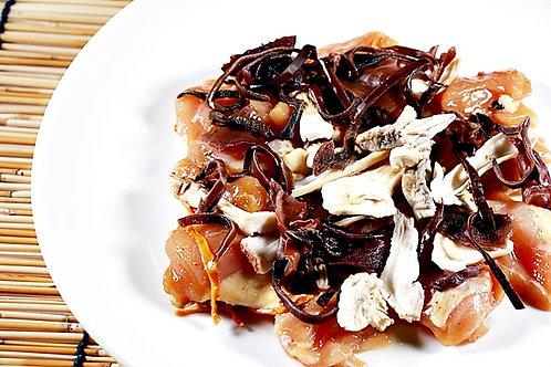 WSA1 松茸木耳蠔皇醬蒸雞 - 250g