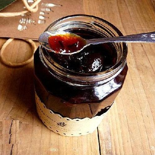 WSD7 (加強版)手工秘製老陳皮冰糖燉有機柑桔蜜(三天三夜蒸燉-川貝枇杷加強版)180ml
