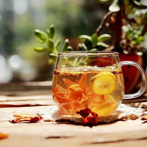TEA001 百合金桔菊花羅漢果清潤茶 (防感冒防喉痛) (5包裝)