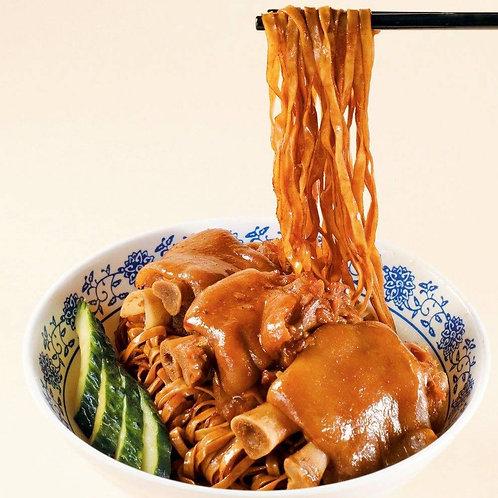 NOD001 (粗撈麵一流) 港式雲吞粗麵餅 (粗) 5塊裝(未煮)