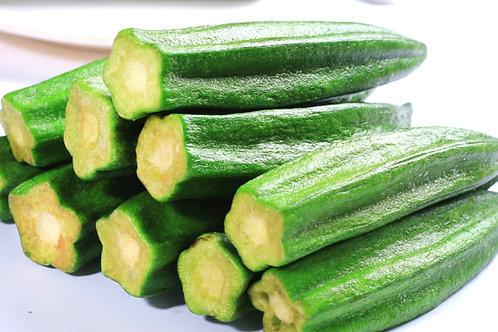 DT021 幾好味小食系列 - 純天然冷凍乾燥秋葵乾(130g)