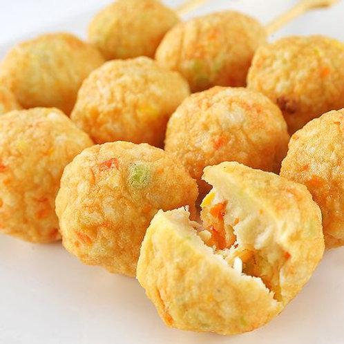 WSB50 日式蔬菜小丸子(8粒)(素)(加熱即食)