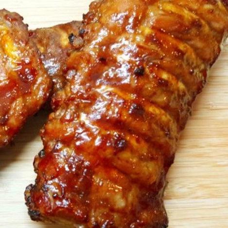 ELD46 48小時慢煮醬燒豬仔骨(已熟)(2支骨)220-250g (建議買2份)