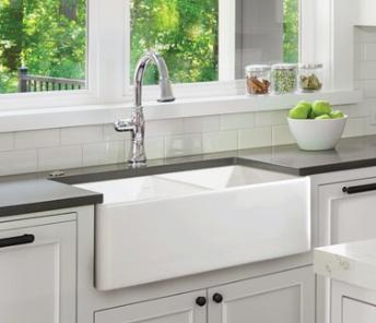 Farmhouse Apron White Bowl Sink