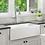 Thumbnail: Farmhouse Apron White Bowl Sink