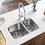 Thumbnail: 60/40 Stainless Steel Undermount Sink