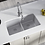 Thumbnail: Double Bowl (Silver) Undermount Sink