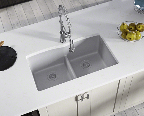 Double Bowl (Silver) Undermount Sink