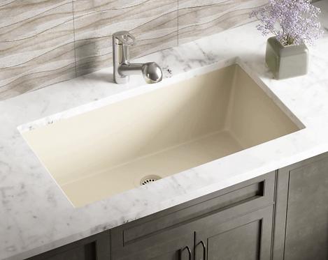 Single Bowl (Wheat) Undermount Sink