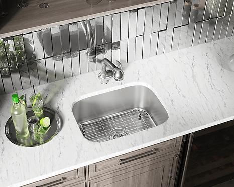 Stainless Steel Undermount Sink-Small Single
