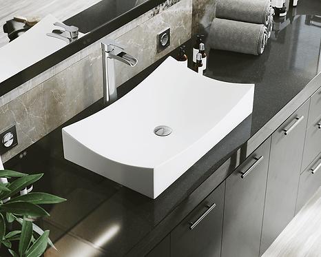 Porcelain (White) Vessel Sink