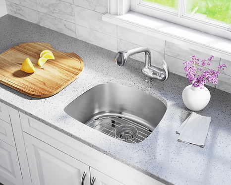 Stainless Steel Undermount Sink -D Bowl