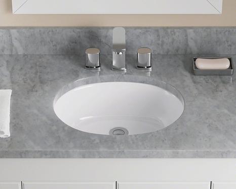 Small (White) Porcelain Vanity Sink