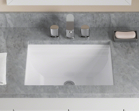 Small (White) Rectangle Porcelain Sink