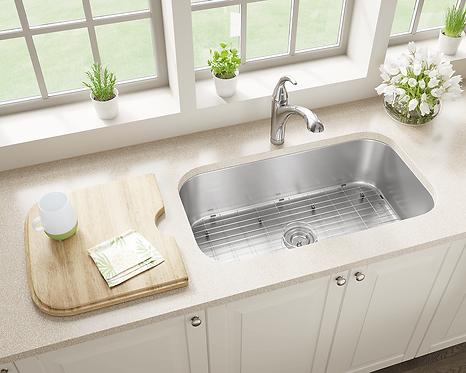 Stainless Steel Undermount Sink-Large Single