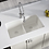 Thumbnail: Double Bowl (White) Undermount Sink