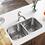 Thumbnail: Double Bowl Undermount Stainless Steel Sink