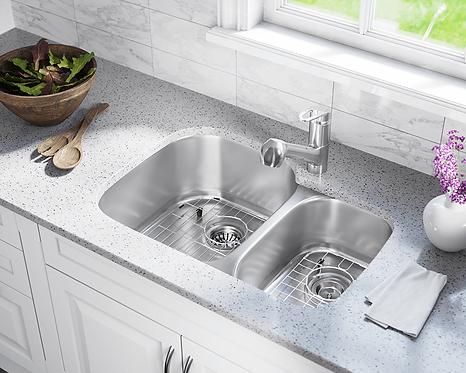 70/30 Stainless Steel Undermount Sink