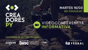 Creadores PY y la FESAAL convocan a Autores Audiovisuales Paraguayos
